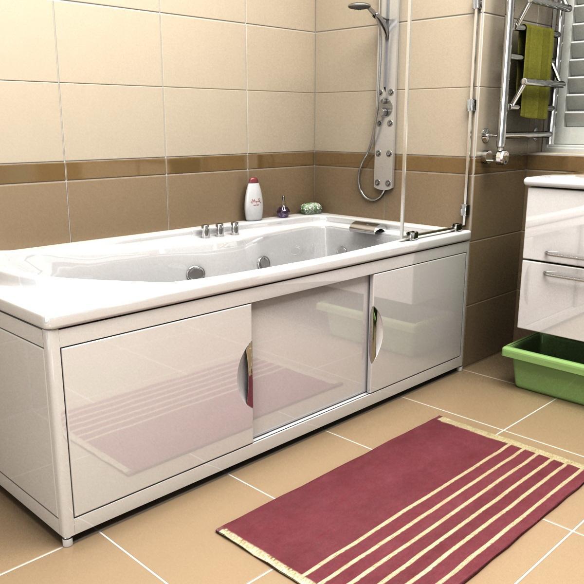 купить экран для ванной в леруа