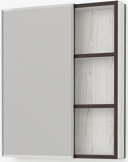 Зеркало-шкаф Какса-А Винтер 75x67 003794 левое с подсветкой купить в Москве по цене 3 822 руб.  Интернет магазин Сантехника1
